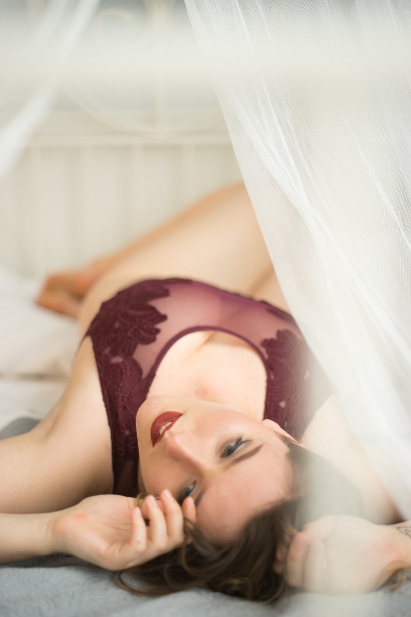 Misty Moss boudoir session - deneot foto